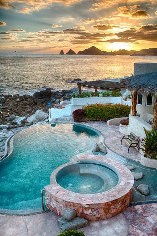 Cabo San Lucas Villa Rental Photos and Description 6 Bedroom 5,000 Square Foot Villa Appointed in style with Ocean views there are 5 master ...