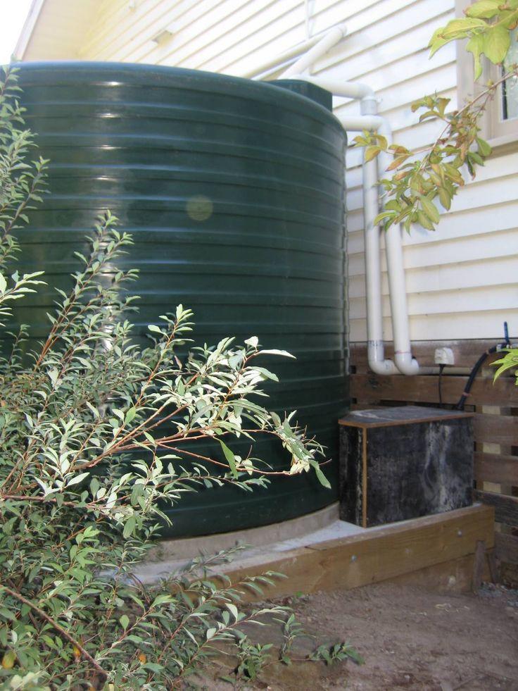 Water tank, base and pump