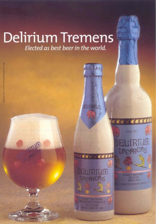 Delirium Tremens- ohh I realized that I missed it a  lot...