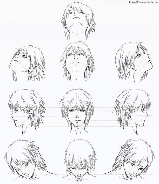 how to draw a manga boy markcrilley