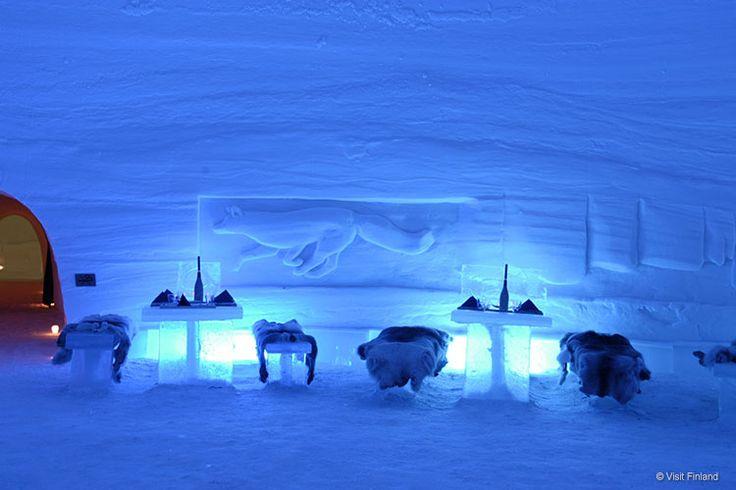 Hotel di ghiaccio Lainio snow village, Finlandia