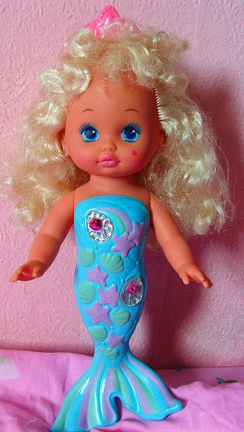 Lil' Miss Mermaid. Bathtime Toy!