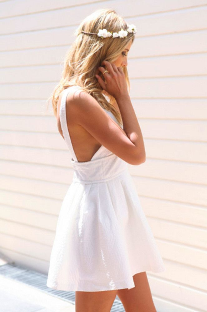 Little White Sundresses