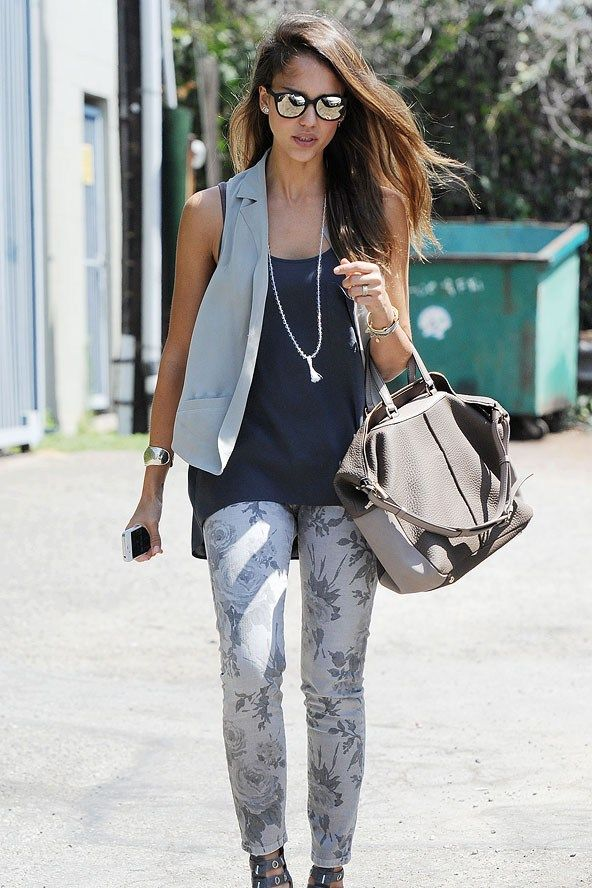 1000 Images About Jessica Alba On Pinterest Flowy Skirt Denim Jackets And Maxi Skirts