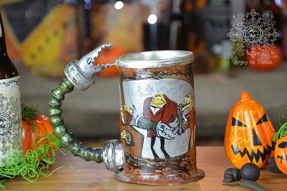 Beer gift ideas mayor tankard mug stein placed on a mug