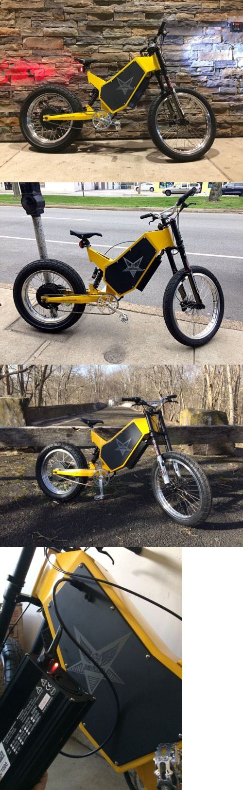 Electric Bicycle Components 177814: Custom Built 2017 Semar With Boost Ebike 134V 150A Controller Electric Bike -> BUY IT NOW ONLY: $8500 on eBay!
