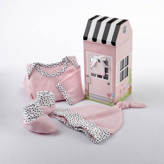 25 unique unique baby girl gifts ideas on pinterest height welcome home baby personalized 3 piece layette set in keepsake gift box negle Image collections