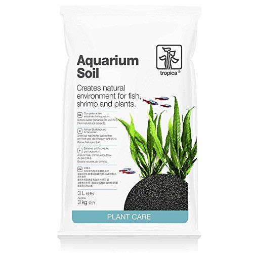 Tropica Plant Care Aquarium Soil is a Japanese natural volcanic granulate material. Aquarium Soil naturally reduces your KH and pH value and enhances the ability of the plants to absorb nutrients. Aqu...