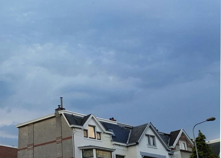 Mamma mia wat een onweer!