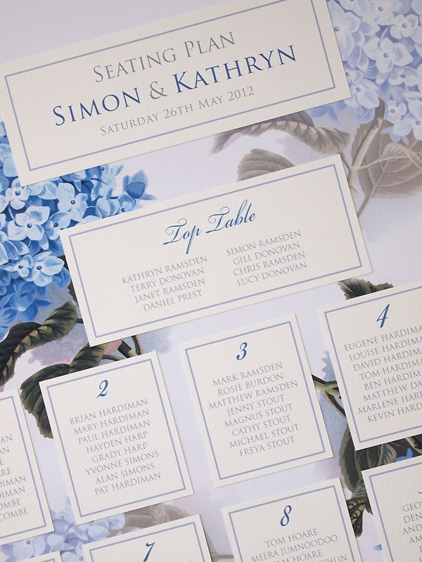 Expensive Wedding Invitation For You Blue Hydrangea Wedding
