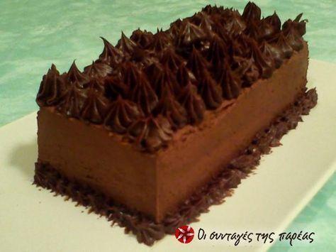 Τούρτα Σοκολατίνα #sintagespareas