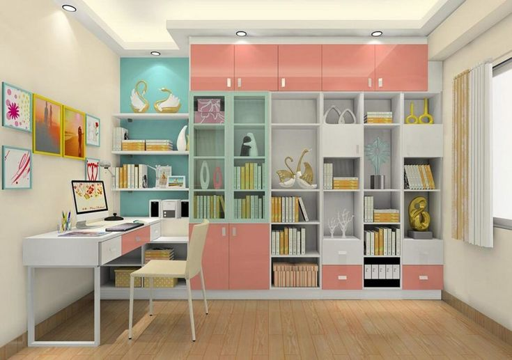 It can cover the entire wall and can be the main storage element in the room. This type of design suits those with large book collections. Make the most of a small and narrow study room by incorporating open shelves and wall-mounted desks.tudy room ideas for small rooms  modern study room ideas  study room decoration ideas  study room interior design ideas  modern study room design gallery  small space study room ideas  how to make a good study room  study room ideas from ikea  study table