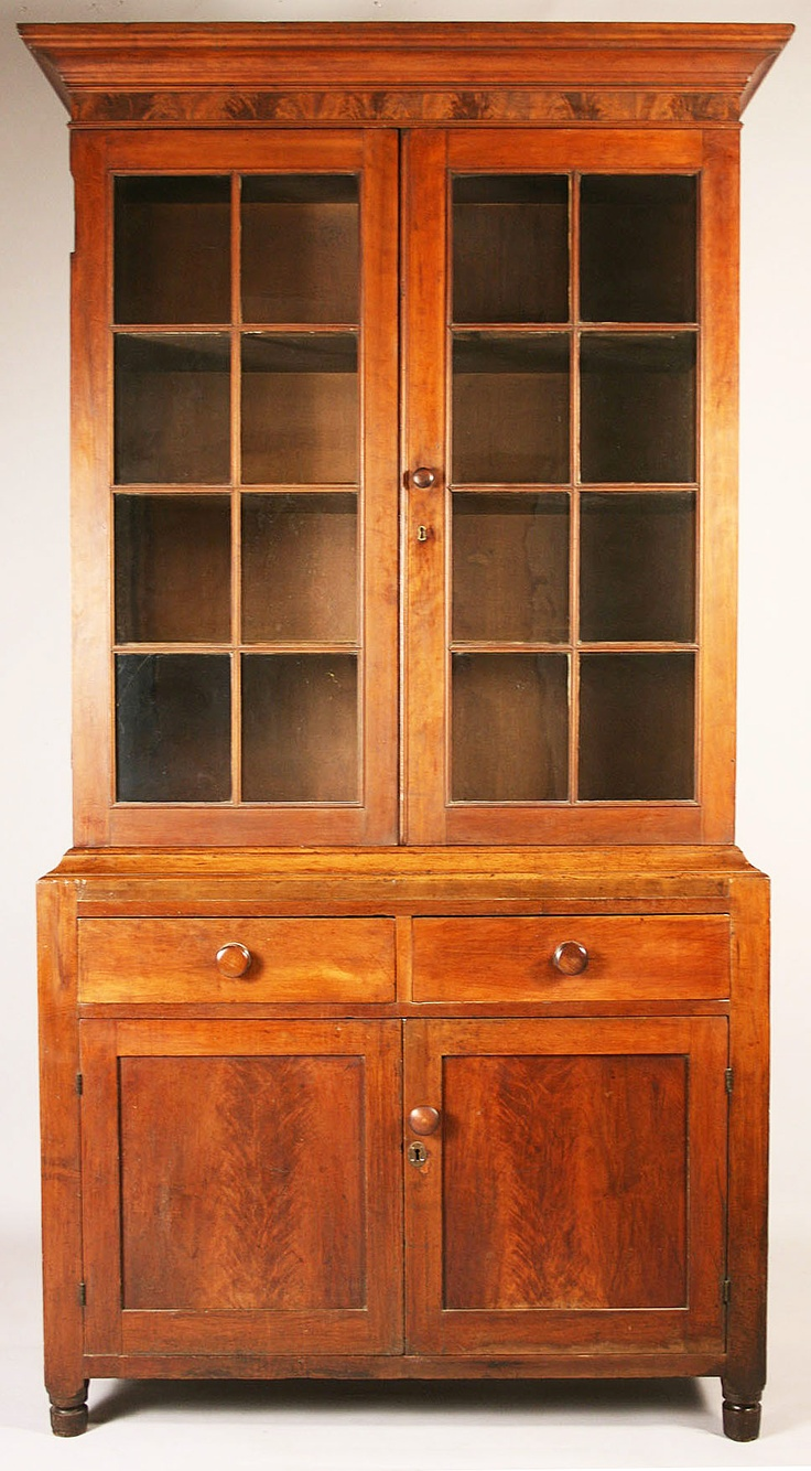 Tennessee Book Or China Press Cherry And Walnut Veneers And Poplar Secondary Wood Sumner