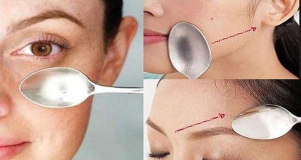 Face massage with spoons: incredible results of rejuvenation for only 12 days! | Cuisine & Health
