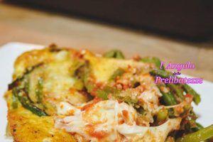 Sformato di fagiolini alla siciliana