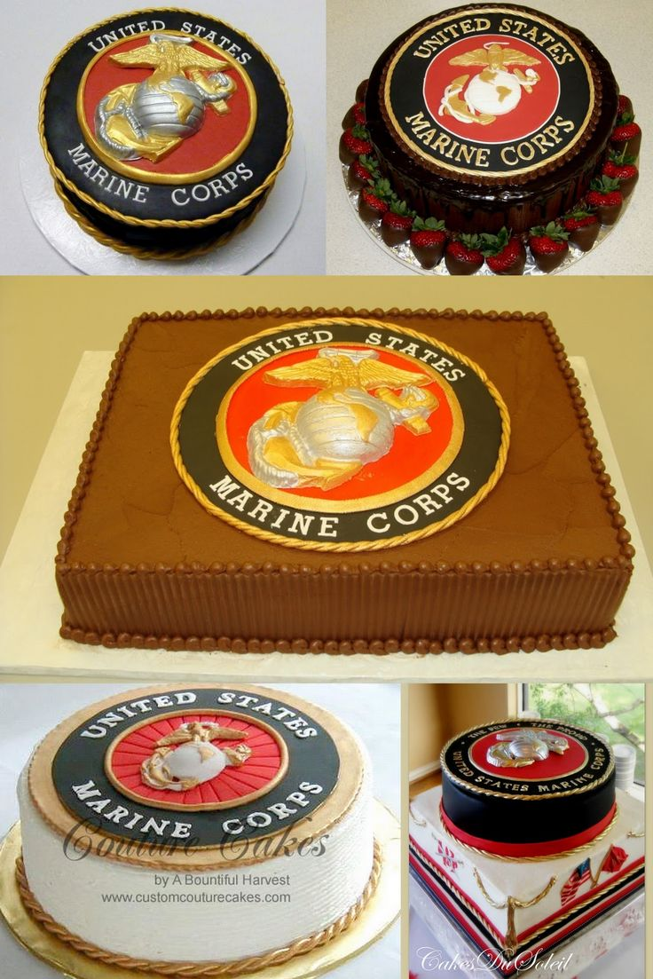 Marine Groom's Cake @Kippi Coley