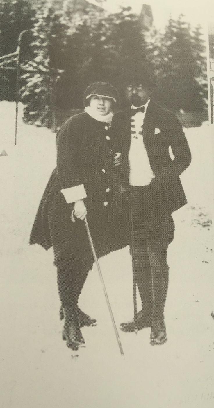 1921 Aralık Naciye Sultan ve Enver Paşa