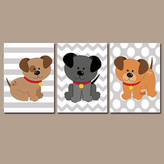 Best 25 puppy nursery theme ideas on pinterest eclectic for Dog themed bedroom ideas