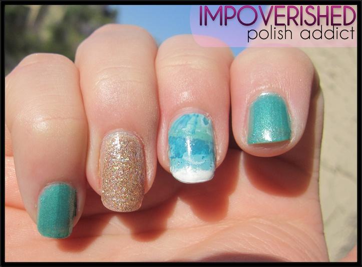 fancy nails seaside
