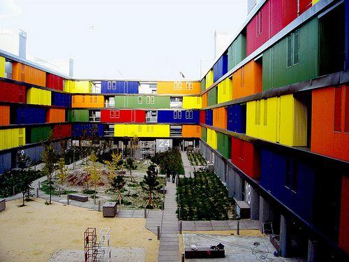 la manzana perforada viviendas en carabanchel madrid arquitectos amann canovas maruri acm