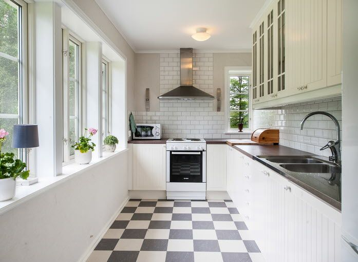 Rutigt Golv Kok Plattor :  kok rutigt golv more kitchen and for the home kok rutigt interiors