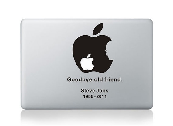In memory of steve jobs decal macbook pro decal by artisticswag 8 75