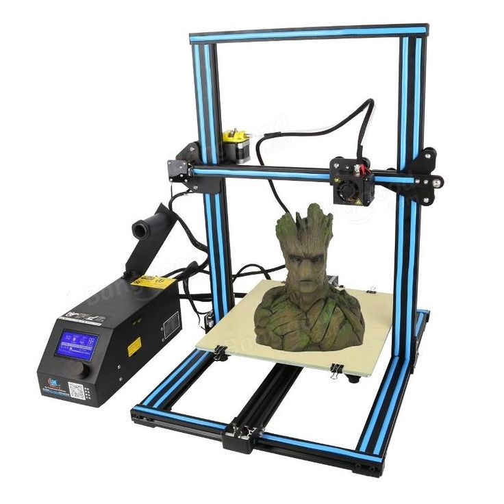 Creality 3D® CR-10S DIY 3D Printer Kit 300*300*400mm Printing Size With Z-axis Dual T Screw Rod Motor Filament Detector 1.75mm 0.4mm Nozzle Sale - Banggood.com