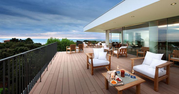 balcony floor with wood plastic | plastic wood for floors used in balcony