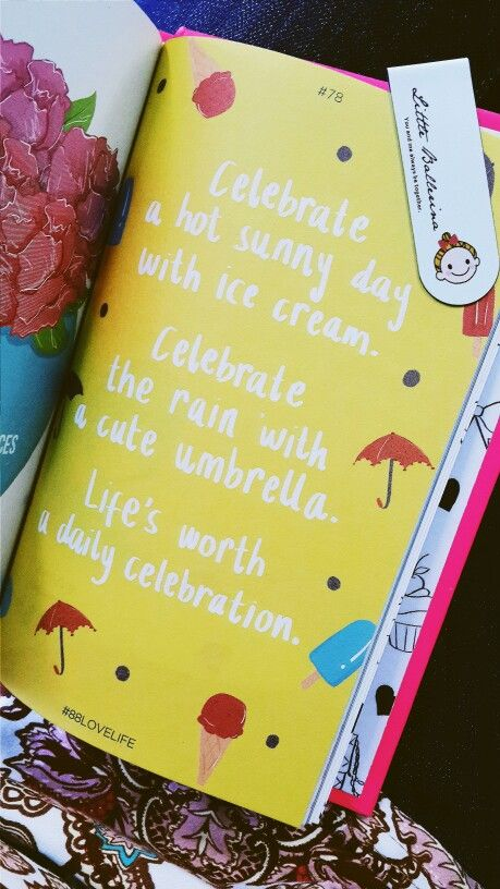 Live for today cos life is worth a daily celebration! #88lovelife