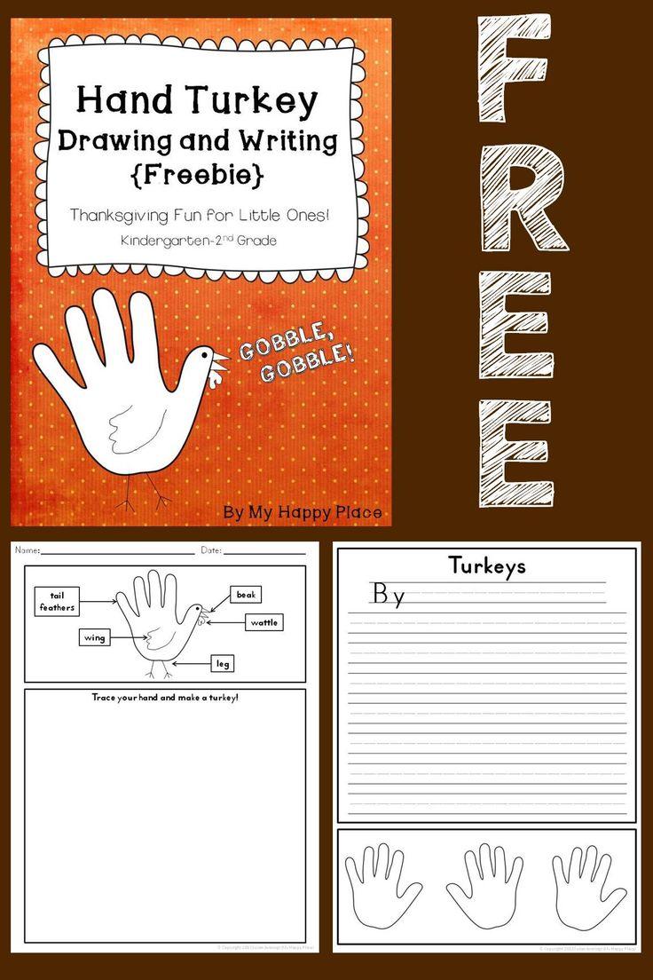 Kindergarten Thanksgiving Worksheets and Printables