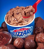 DQ Brownie Batter Blizzard. Amazing
