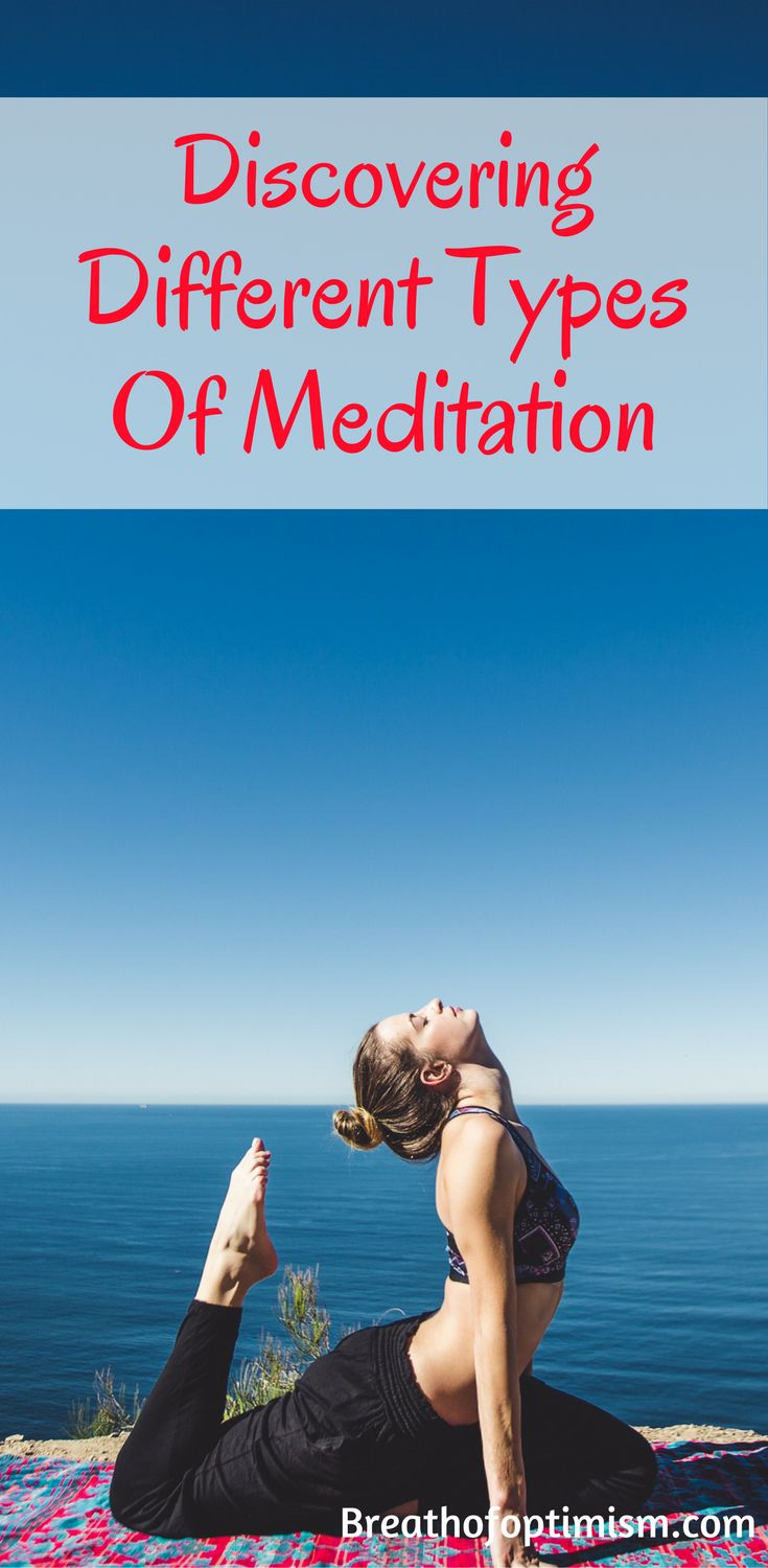 Discovering The Different Types Of Meditation. Meditation is beneficial, but figuring out what works for you is hard. This post helped me find the best practice for me and I'm sharing because I'm confident it will help you too!