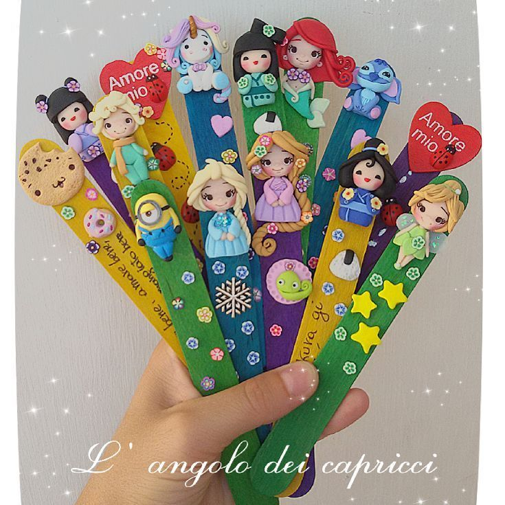 Bookmarks available ♡ #fimo #polimer #clay #clayart #fantasy #fimoart #fimoclay #creations #langolodeicapricci #lovefimo #mypassion #fimocreations #policlaycreations