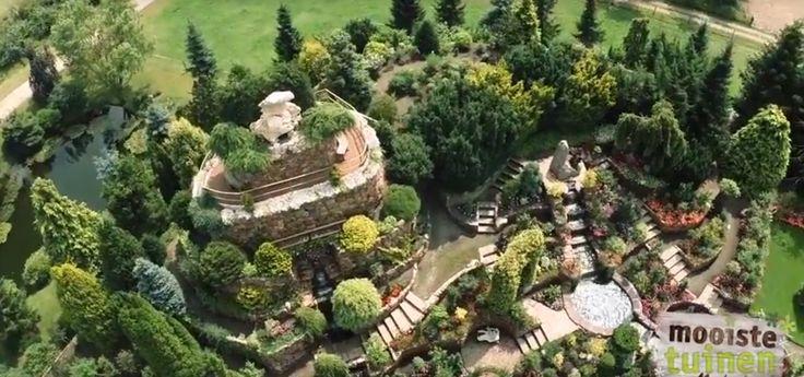 De mooiste tuin vanuit de lucht