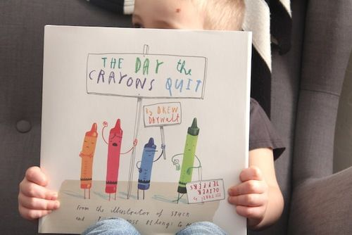 The Day the Crayons Quit - a good read  **my kids love this book, very cute