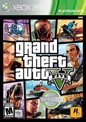 Grand Theft Auto V - Xbox 360 Rockstar Games https://www.amazon.com/dp/B0050SYILE/ref=cm_sw_r_pi_dp_yU3BxbM8QGD4E