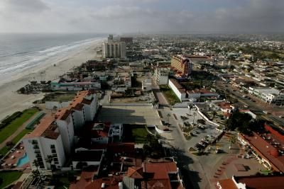 Rosarito, only about 20 miles south of the U.S.-Mexico border at San Diego, is a Pacific Coast city with a mild climate that mirrors that of San Diego. The city of about 90,000 has tourist-class ...