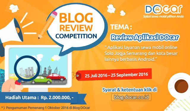 Kontes Review Docar Sewa mobil Solo Jogja Semarang