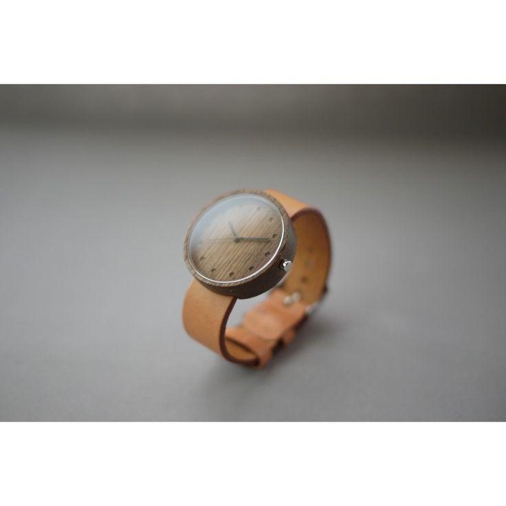 Montre bois et cuir - Nakari Watch