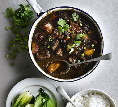 chinese braised pork with plums in 2020  braised pork