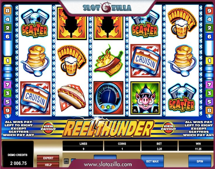 Free 5 reel slots games online at Slotozilla.com -