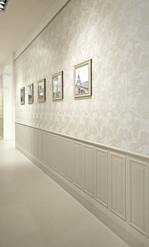 1000 ideas about ceiling trim on pinterest projection - Moldura madera pared ...