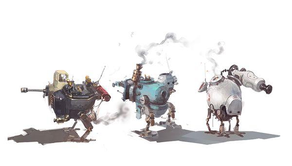 G5 - Iron world on Behance