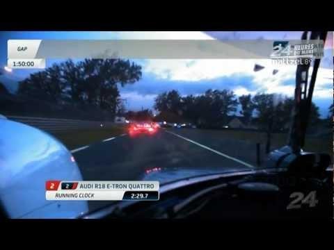 Tom Kristensen Audi R18 e-tron quattro Onboard 2012 Le Mans 24 Hours Qualifying