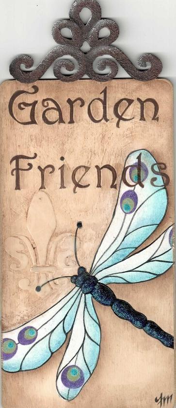 garden dragon fly