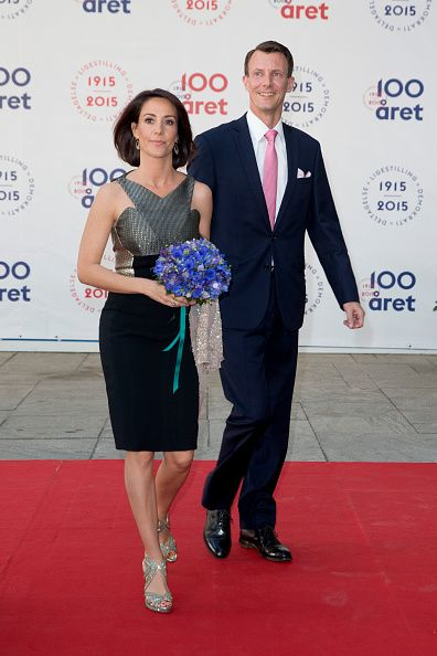Prince Joachim, and Princess Marie of Denmark attend The Parliament and Government's Celebration of The 100th Anniversary of The 1915 Danish Constitution, at The Tivoli Hotel and Convention Center, on June 4th, 2015 in Copenhagen, Denmark