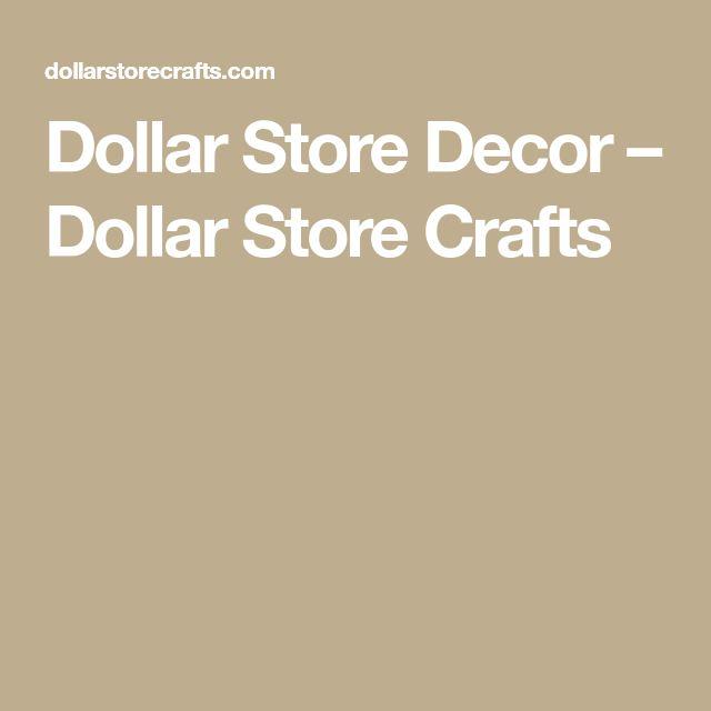 Dollar Store Decor – Dollar Store Crafts
