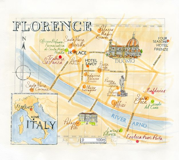 Best 25 Firenze map ideas on Pinterest  Tuscany italy map