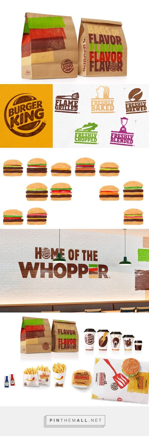Burger King Revamped Its Packaging via Adweek curated by Packaging Diva PD. New packaging is part of an overall brand strategy for Burger King, which is trying to position itself more uniformly on a global scale