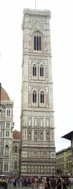 Giotto's Tower in Florence, Italy